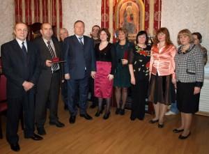 Губернатор поздравил сотрудников Постоянного представительства с новогодними праздниками