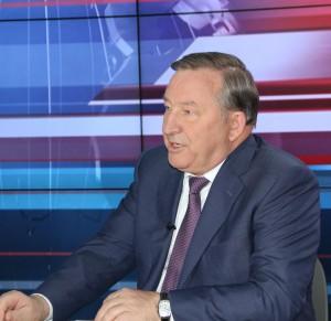 Александр Карлин дал интервью Общественному телевидению России