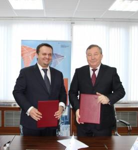 Губернатор Александр Карлин и Гендиректор Агентства стратегических инициатив по продвижению новых проектов Андрей Никитин подписали соглашение о сотрудничестве