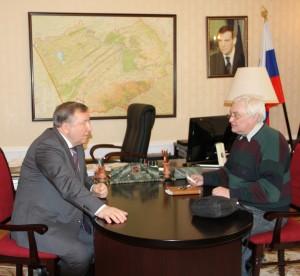 Губернатор Александр Карлин дал интервью журналу «Российская Федерация сегодня»