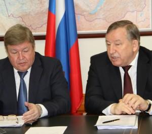 Губернатор Александр Карлин принял участие в заседании Совета при полномочном представителе Президента РФ в Сибирском федеральном округе в городе Москве