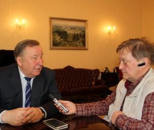 Интервью «Радио России»