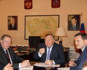 Рабочая встреча Губернатора Александра Карлина с депутатами Государственной Думы