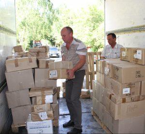 Книги из Москвы отправили в библиотеки Алтайского края