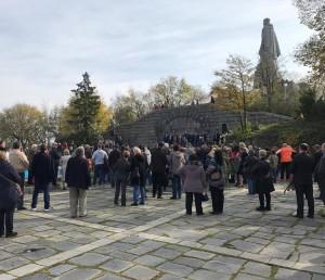 В болгарском Пловдиве отметили 60-летие памятника «Алеша»