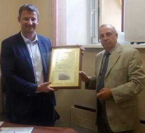 Гостиница «Алтай» отмечена Почетной грамотой Алтайского края