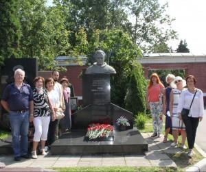 Годовщину полета Германа Титова в космос отметили в Москве